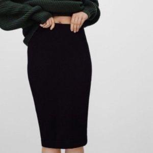 Talula Black Pencil Skirt